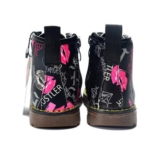 DIMI 2018 New Kids Boots Girls Leather Martin Boots Fashion Brand Children Boys Boots Waterproof Ankle Baby Boots Shoes For Girl - ourkids-shop