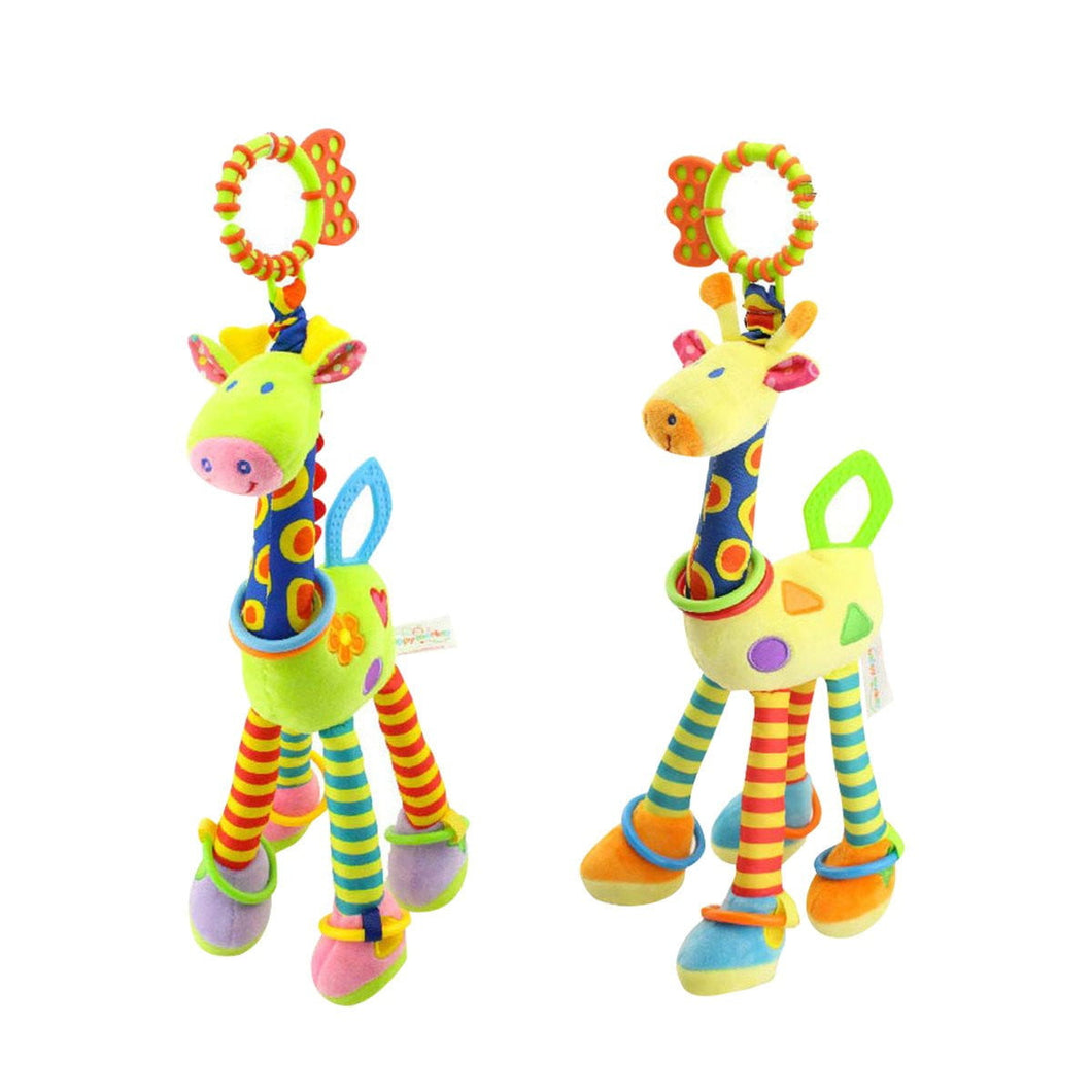Kids Baby Bed Crib Cot Pram Hanging Giraffe Toy Pendant with Ringing Bell (Random Color) - OurKids.Shop