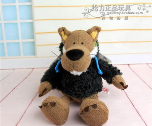 Germany NICI Series With Sheep Skin Wolf Plush Toy 25cm 35cm Children Birthday Christmas Gift Three Colors 1pcs - ourkids-shop
