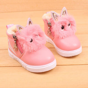 Children Fashion Boys Girls Sneaker Boots Kids Warm Baby Casual Shoes - ourkids-shop