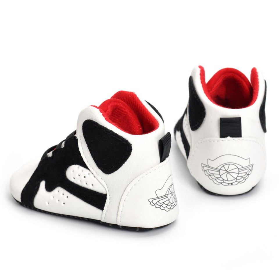 Newborn Infant Kid Girls Boys Crib Shoes Soft Sole Anti-slip Baby Sneakers Shoes - OurKids.Shop