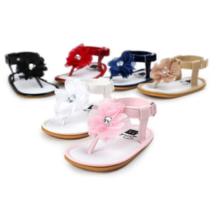 Baby Flower Pearl Sandals Toddler Princess First Walkers Girls Kid Shoes - OurKids.Shop