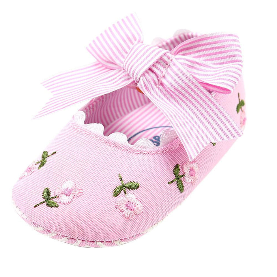 Baby Girl Embroidery Flower Fashion Toddler First Walkers Kid Shoes - OurKids.Shop