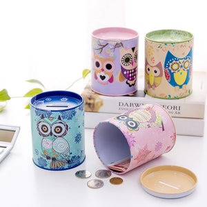 Cartoon Piggy Bank Cash Coin Money Saving Storage Box Case Gift for Kids Children - ourkids-shop