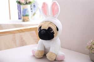 20CM Stuffed Simulation Dogs Plush Sharpei Pug Lovely Puppy Pet Toy Plush Animal Toy Children Kids Birthday Christmas Gifts - ourkids-shop