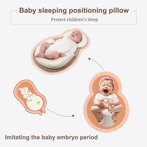 Multifunction Baby Crib Travel Sleep Pillow Newborn Anti-rollover Safety Cushion Baby Sleep Positioning Pad Portable Folding Bed - OurKids.Shop