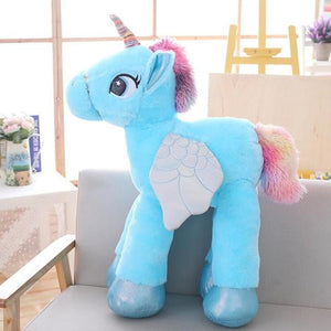 BIG SOFT KAWAII UNICORN STUFFED PLUSH TOYS