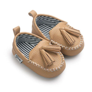 Moccasin First Walkers Newborn Baby Shoes Toddler Prewalker Shoes Baby Boy Girl Pu Tassel pendant Leather Shoes - ourkids-shop