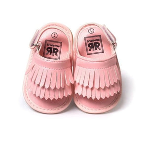 Summer Baby First Walkers Soft Bottom Fringe Candy Color Shoes Girls Baby Toddler Slippers Boys Prewalkers QF - ourkids-shop