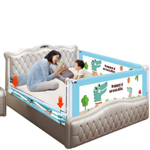 Baby Bed Fence Safety Gate Products child Barrier for beds Crib Rail Security Fencing for Children Guardrail Safe Kids playpen - ourkids-shop