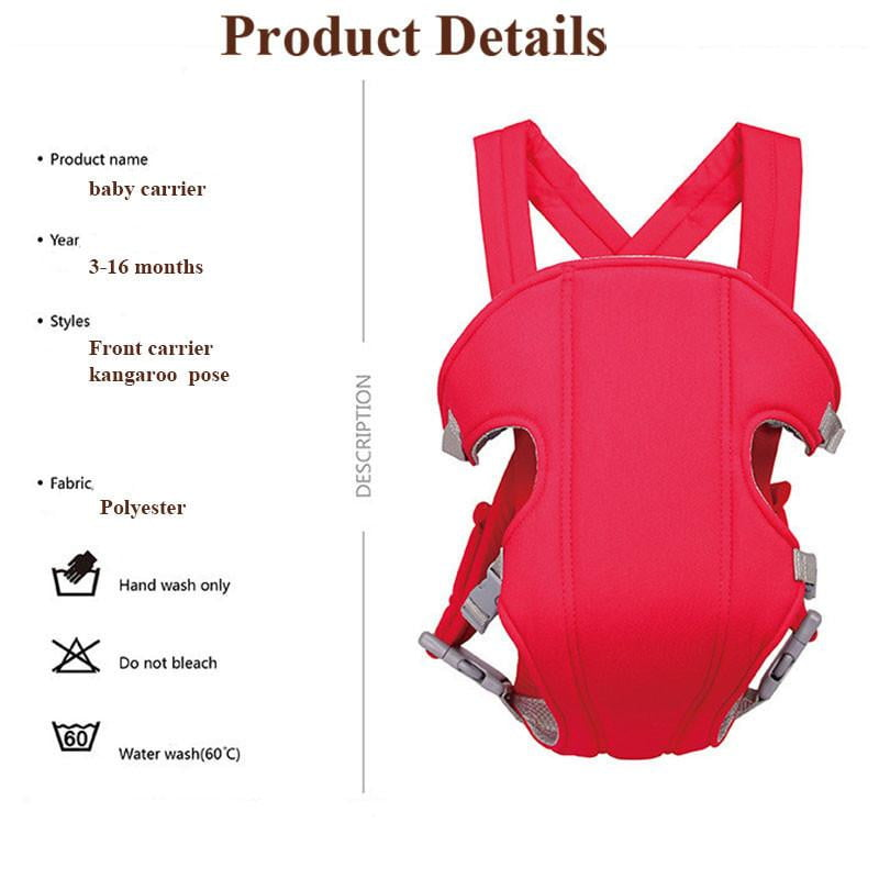 Baby Safety Carrier Adjustable Position Lap Strap Soft Baby Sling Carriers mummy carrier for baby - ourkids-shop