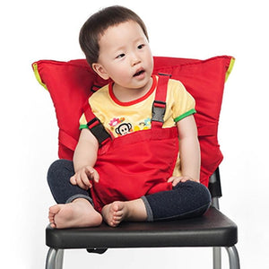 Baby Portable Seat Kids Feeding Chair for Child Infant Safety Belt booster Seat Feeding High Chair Harness Carrier BB0029