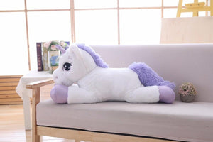 BIG SOFT GIANT UNICORN STUFFED PLUSH TOYS