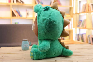 Brown Bear Plush Toy Korean Bear in Dinosaur/Pig/Dog/Suit Cute Animal Stuffed Soft Doll Anime Figure Baby Kids Toys Child's Gift - ourkids-shop