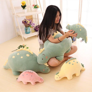 Cute Plush Dinosaur Pillow Stuffed Animals Soft Doll Dinosaur Plush Toys Birthday Gifts Children Girls Toys