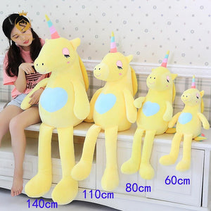 BIG SOFT UNICORN STUFFED PLUSH TOYS - ourkids-shop
