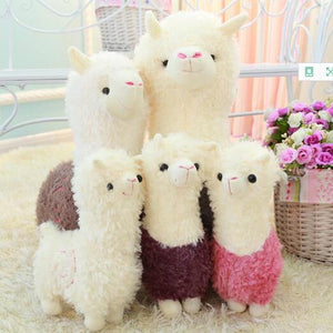 New alpaca/grass mud horse/lama pacos  plush toy cute children birthday gifts lovers present 1pcs - ourkids-shop