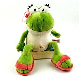 The nici Frog Prince Cute Frog Plush Toy - ourkids-shop