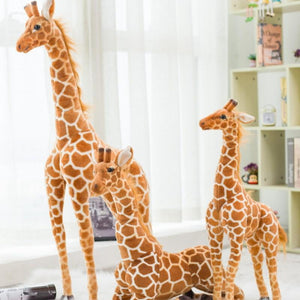 Giant size Giraffe Plush Toys Cute Stuffed Animal Soft Giraffe Doll Birthday Gift Kids Toy - ourkids-shop
