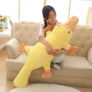 Super Comfortable Big Size Duckbills Plush Toy Animal Platypus Doll Children Birthday Gifts Girls Present Free Ship - ourkids-shop