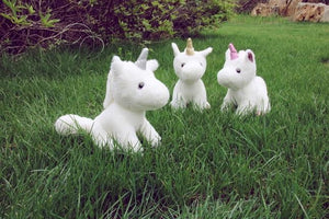 2018 MAY New Germany NICI Unicorn Plush Toy Horse Animal Doll 1pcs 20cm 25cm Cute Birthday Christmas Present - ourkids-shop