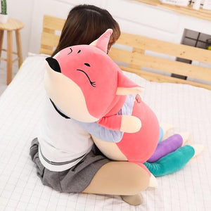 Kawaii Fox Stuffed Animals Plush Toys for Children Toys Plush Pillow Fox Stuffed Animals Soft Toy Doll - ourkids-shop