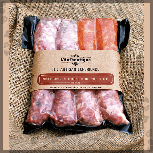 ARTISAN PACK SAUSAGES - L'Authentique