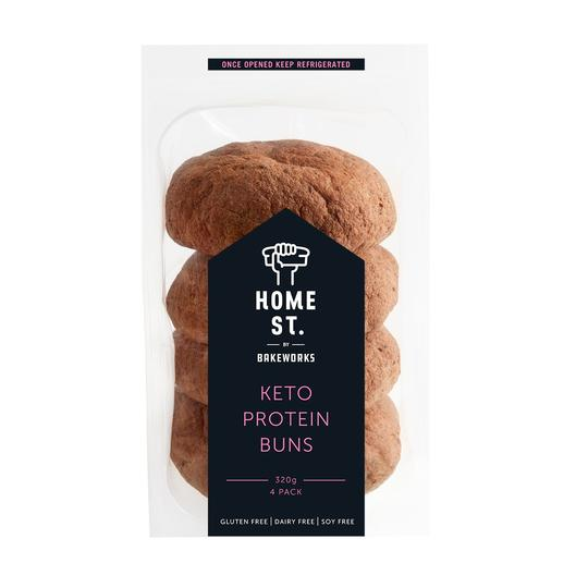 Home St - KETO BREAD PROTEIN BUNS 4 PACK