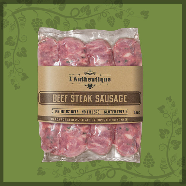 BEEF STEAK SAUSAGES - L'Authentique