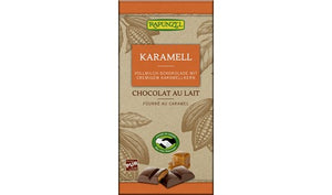 Organic Milk Chocolate with Caramel Creme