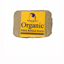 Load image into Gallery viewer, Organic Free Range Eggs - half Dozen
