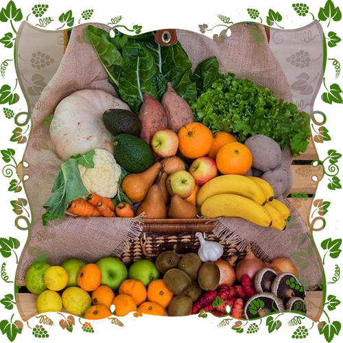 Bounty Box $70 Organic Fruit & Veges