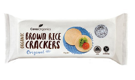 Organic Brown Rice Crackers Original