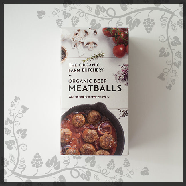 Beef Beef Meatballs 600g - The Organic Farm