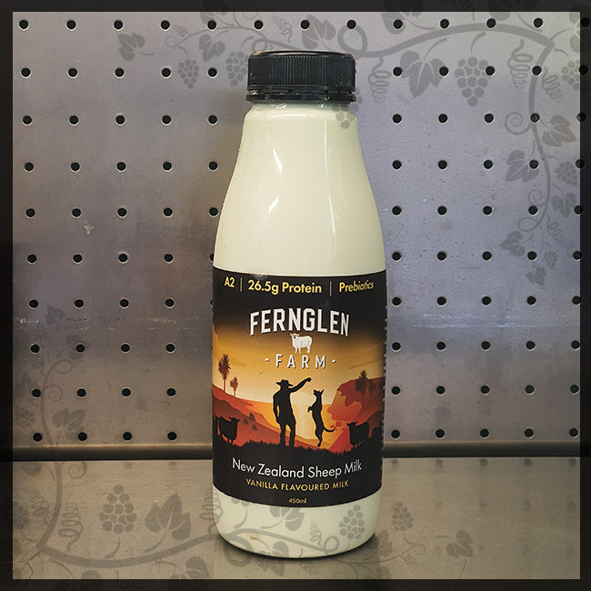 Sheep Milk Prebiotic Vanilla Flavoured