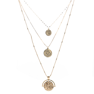 Layer Coin Necklace