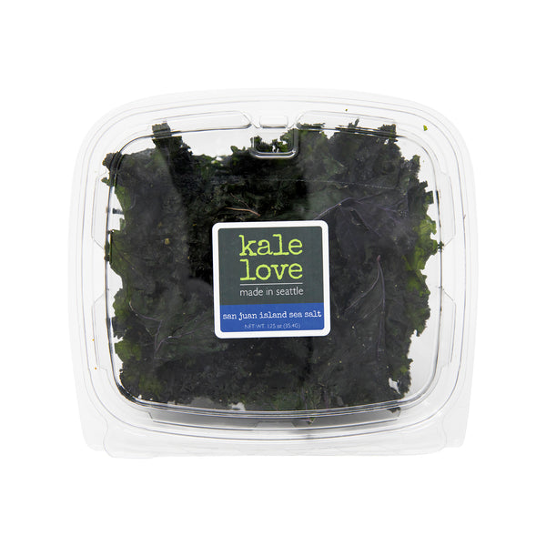 Kale Love San Juan Island sea Salt Kale Chips