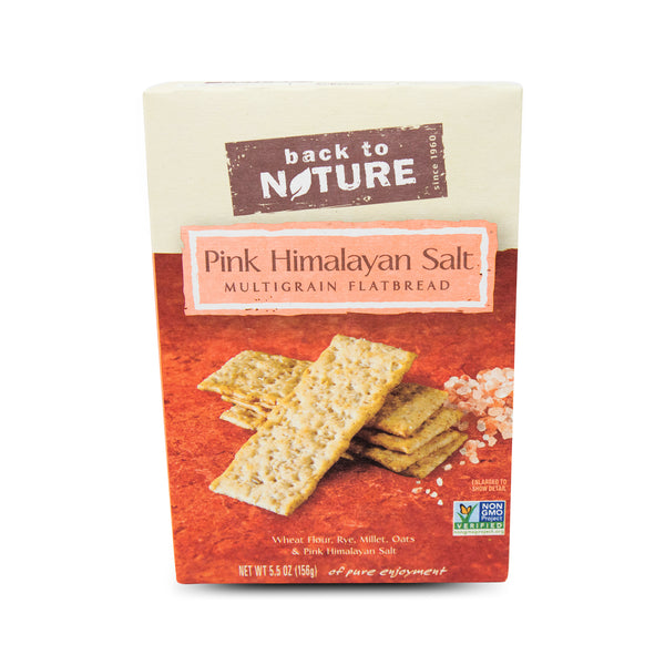 Back To Nature Flatbread - Pink Himalayan Sea Salt