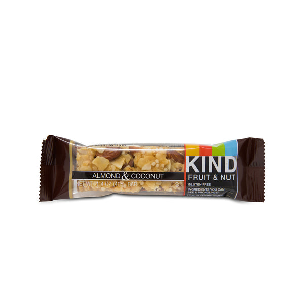 Almond Coconut Fruit and Nut Bar