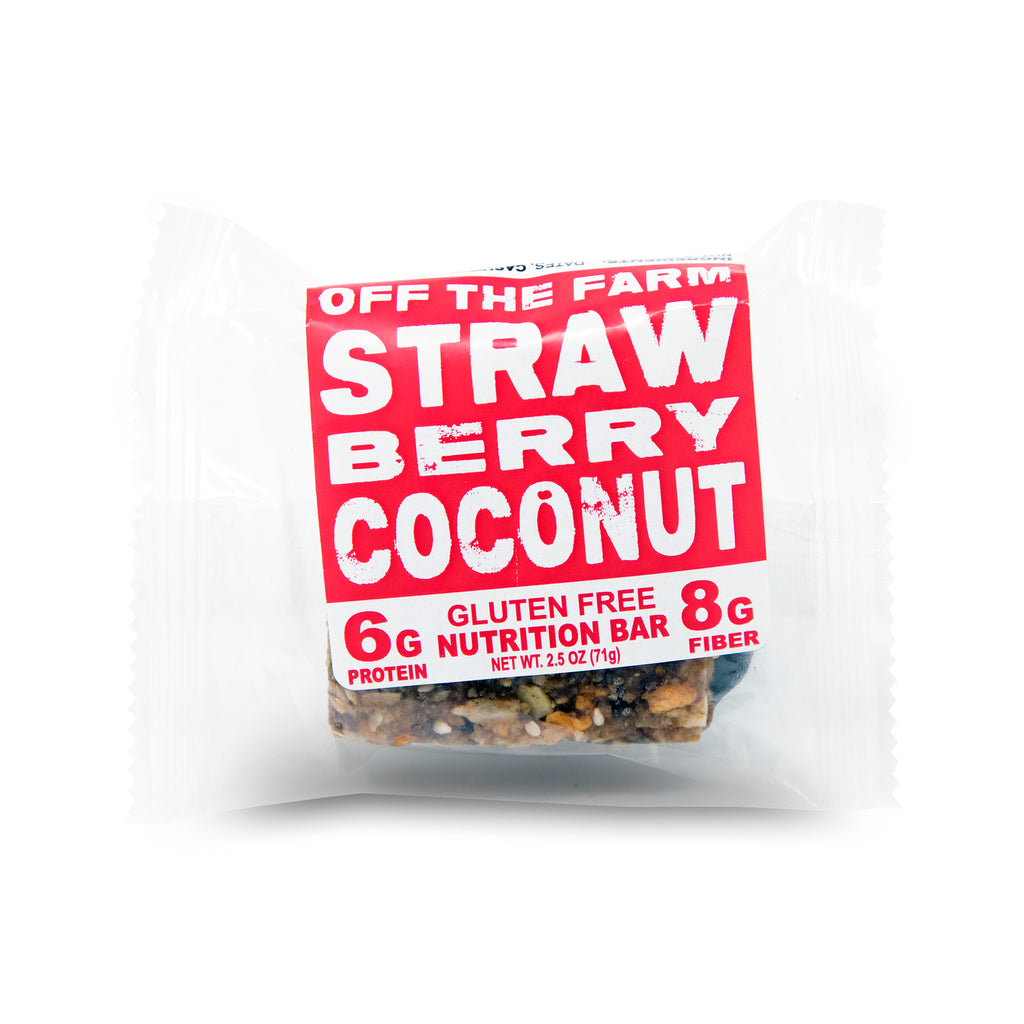 Strawberry Coconut Nutrition Bar