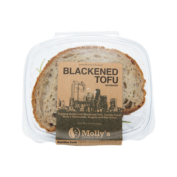 Molly's Blackend Tofu Sandwich