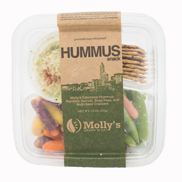 Molly's Hummus and Veggies Snack