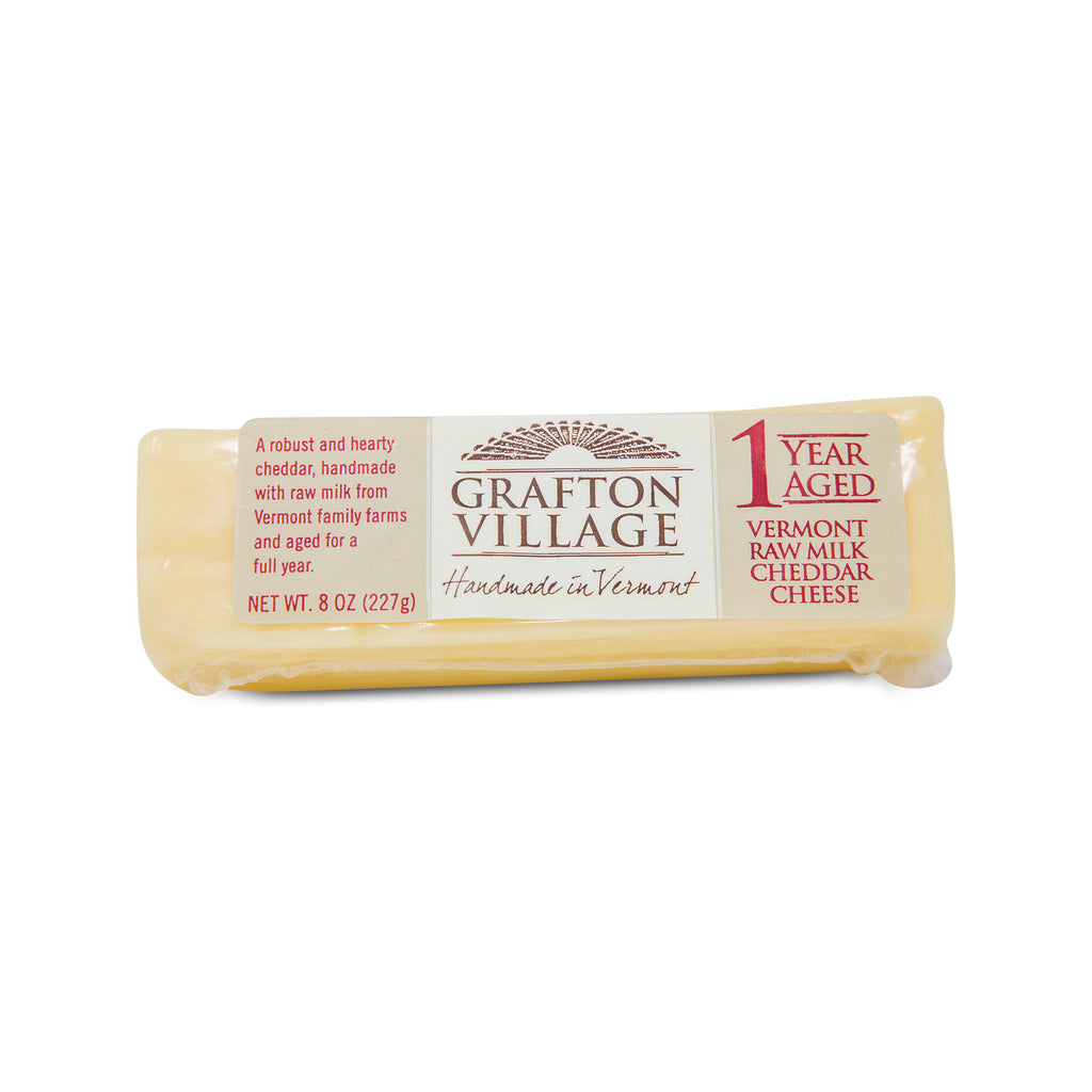 Grafton 1 Year Aged Raw Cheddar