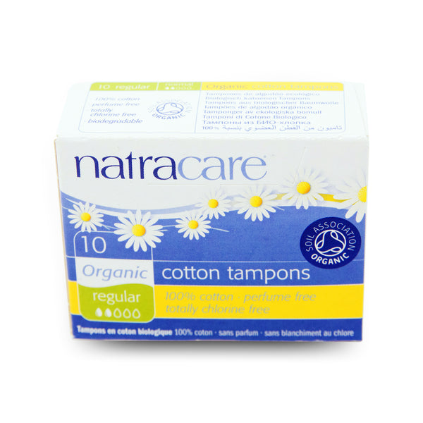 Natracare Regular Cotton Tampons