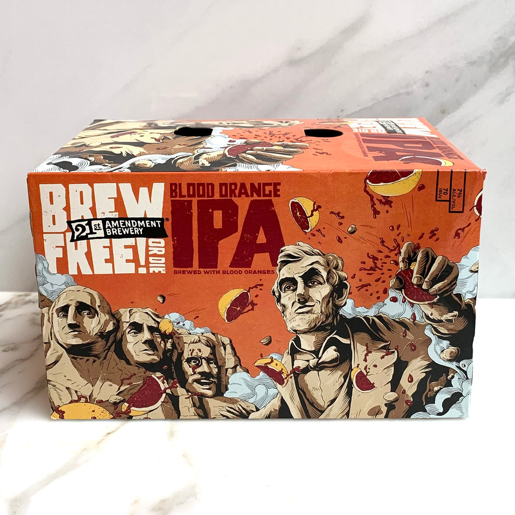 21st Amendment Brew Free or Die IPA - Blood Orange