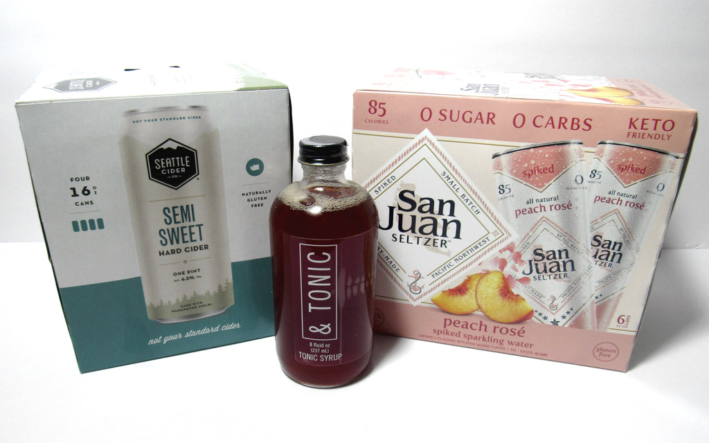 Seattle Made - Cider, Seltzer, and Tonic Package