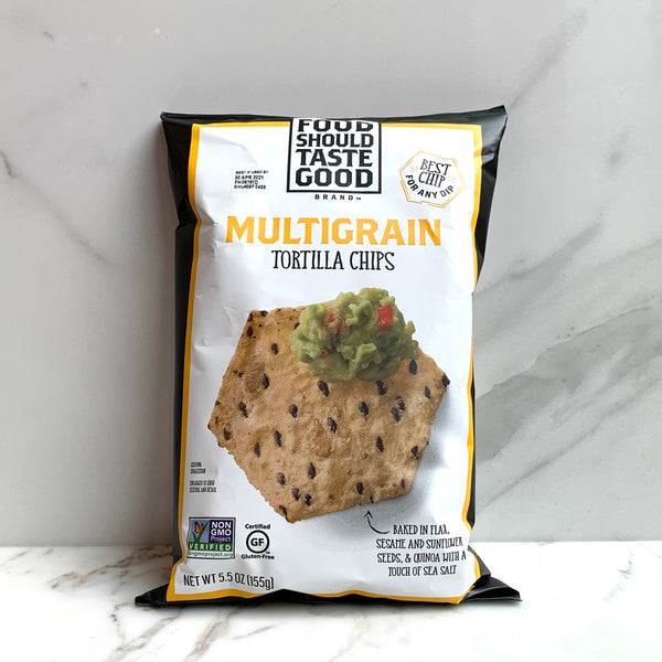 Food Should Taste Good Tortilla Chips - Multi-Grain