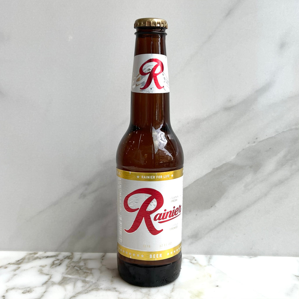 Rainier Glass Bottle 12 oz
