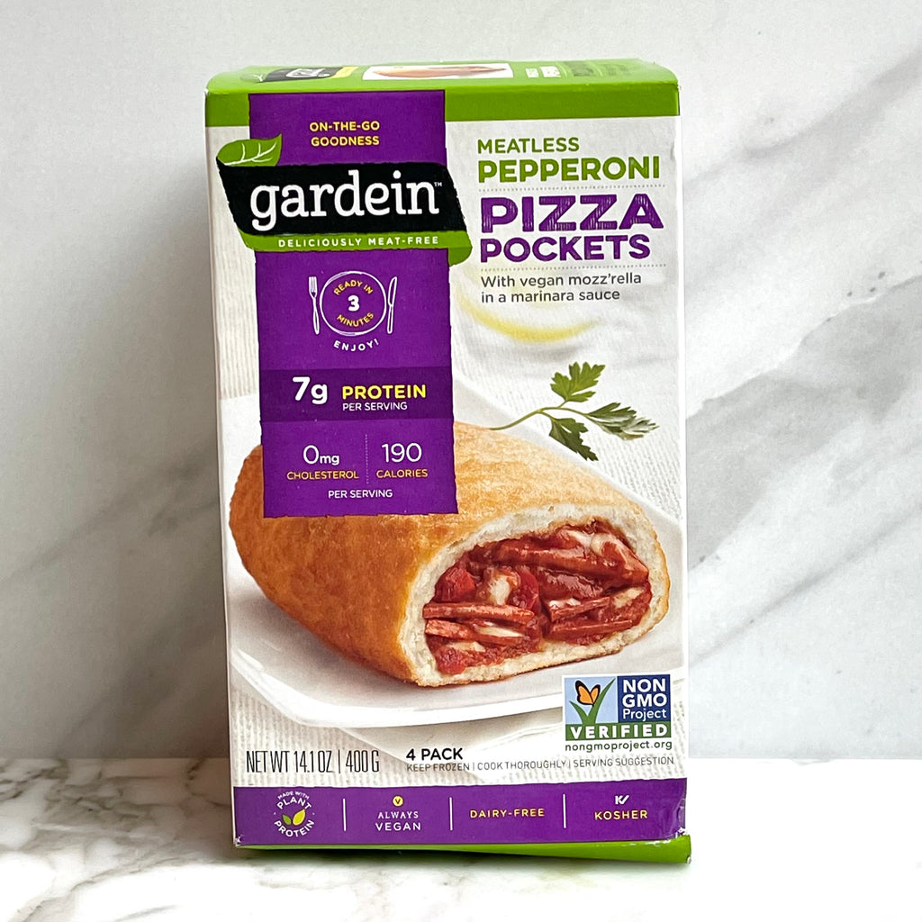 Gardein Pizza Pockets - Meatless Pepperoni