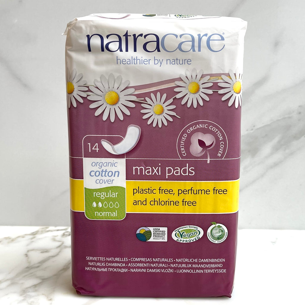 Natracare Cotton Maxi Pads - Organic